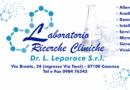 Laboratorio di ricerche cliniche Dr. Leporace srl