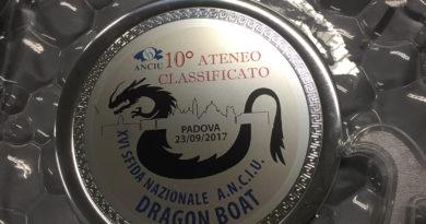 Ai Campionati Nazionali di Dragon Boat di Padova la Calabria è UniCal