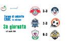Risultati terza giornata e Classifica Torneo di Calcio a 8 Cruc