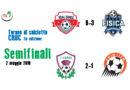 Risultati semifinali Torneo di Calcio a 8 Cruc