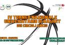IV Torneo Nazionale Universitario di Basket dei circoli ANCIU – Rende/Cosenza, 22/23 settembre 2018