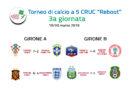 """Risultati terza giornata e classifiche Torneo di Calcio a 5 """"Reboot"""""""