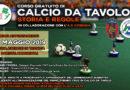 Corso gratuito di Subbuteo/Calcio da Tavolo – primo incontro 14 maggio 2019