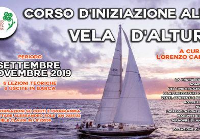 Corso d'iniziazione alla vela d'altura – settembre/novembre 2019