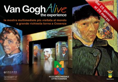 "Convenzione Museo Multimediale Città di Cosenza – Mostra Multimediale ""Van Gogh Alive"""